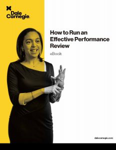 How to Run an Effective Performance Review