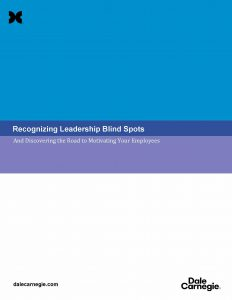 Recognizing Leadership Blind Spots And Discovering the Road to Motivating Your Employees
