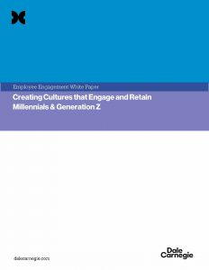 Creating Cultures that Engage and Retain Millennials and Generation Z